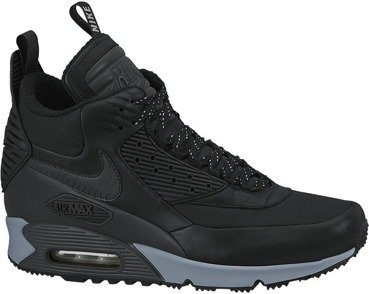 Buty Nike Air Max 90 Sneakerboot Winter Black Reflective 684714 001