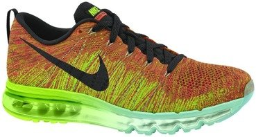 Buty Nike Flyknit Max Electric Green 620469 800