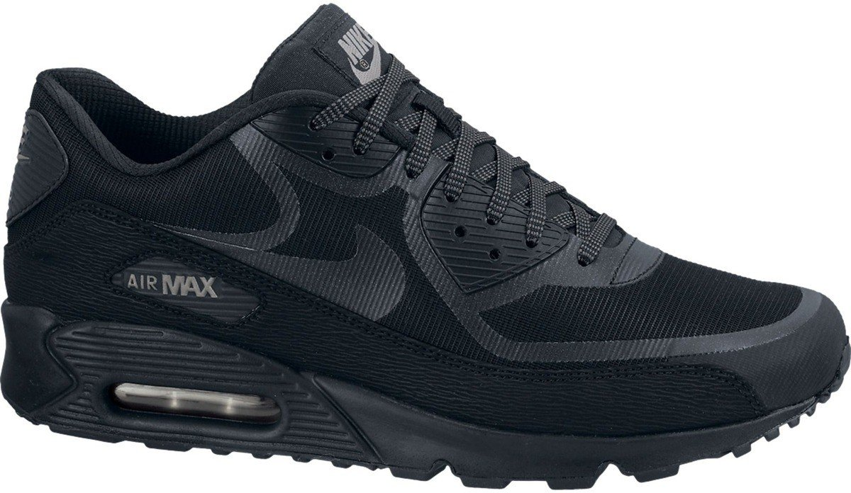 ... Nike Air Max 90 Cmft Prm Tape Reflective \u2013 Black ...