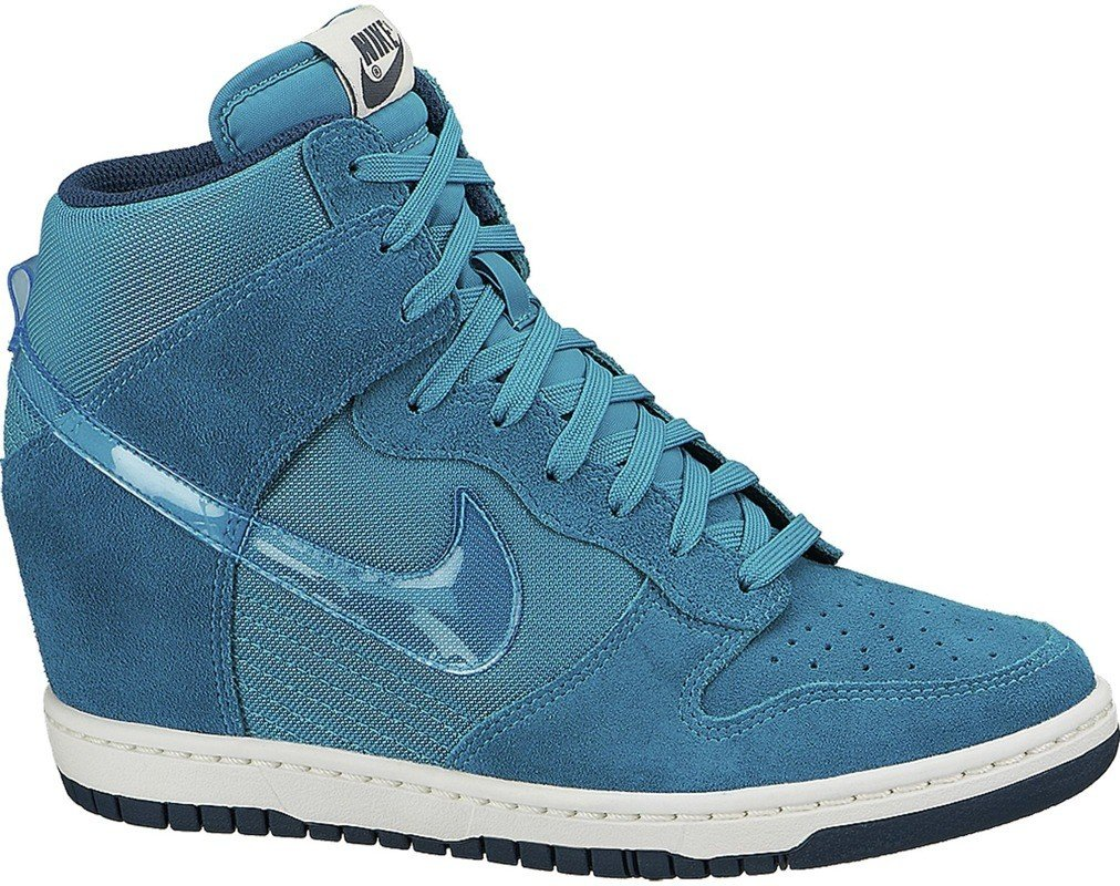 Buty Nike WMNS Dunk Sky HI Essential Turbo Green 644877 300