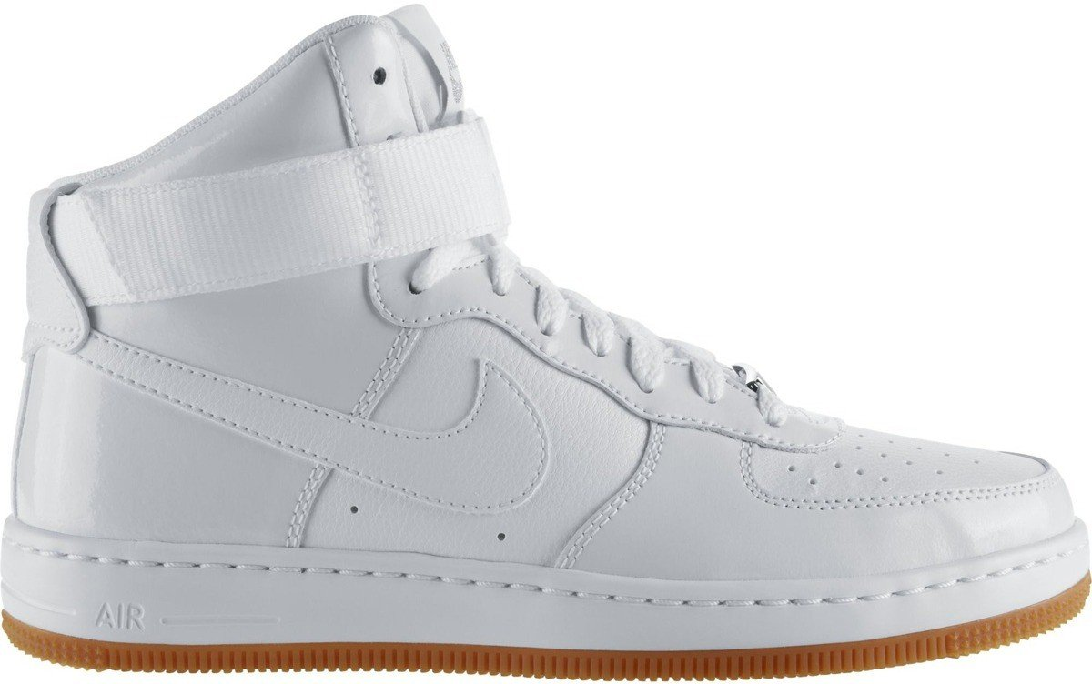Buty W Nike AF1 Ultra Force MID White/Hyper Punch 654851 100