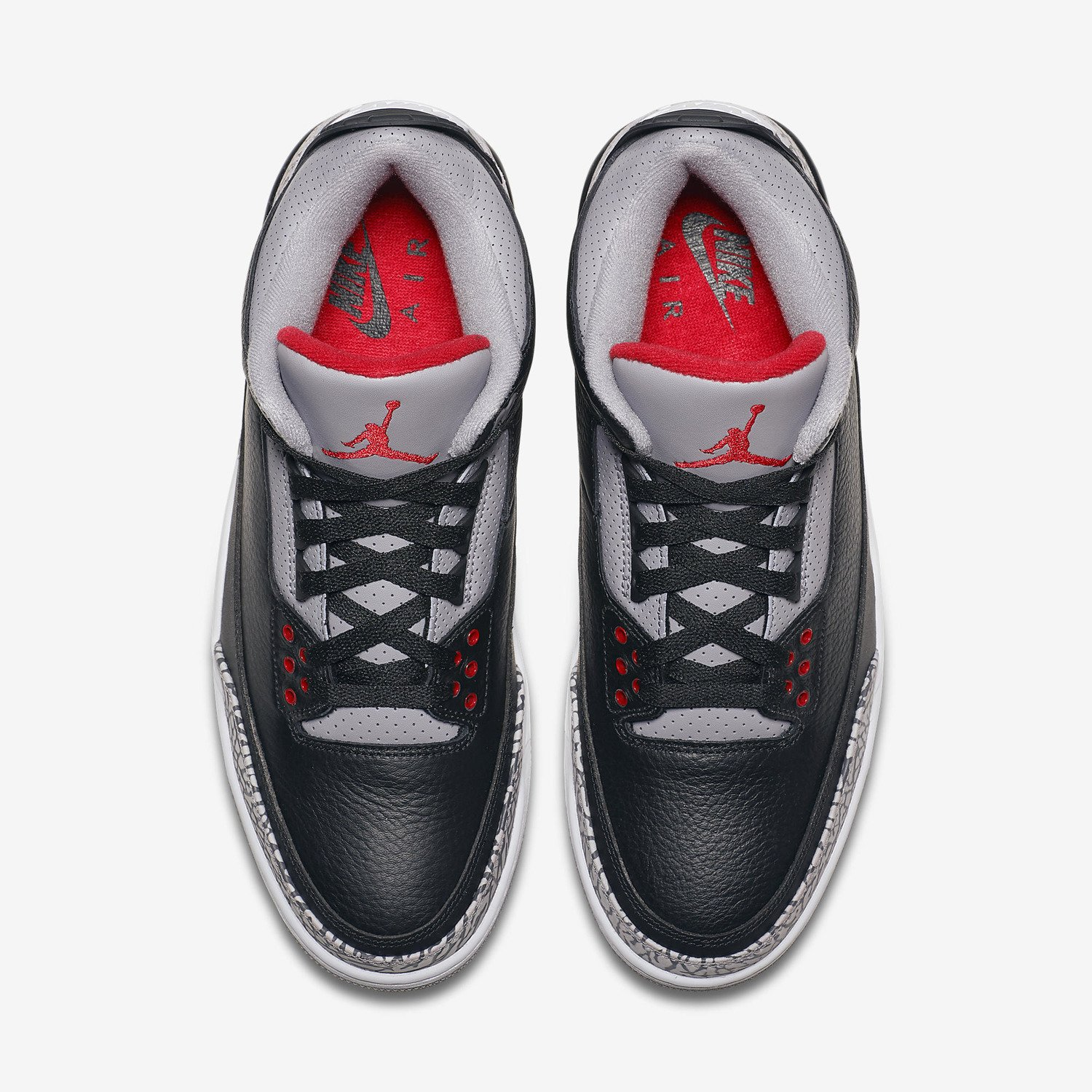 Buty męskie Air Jordan 3 Retro OG Black Cement 854262 001