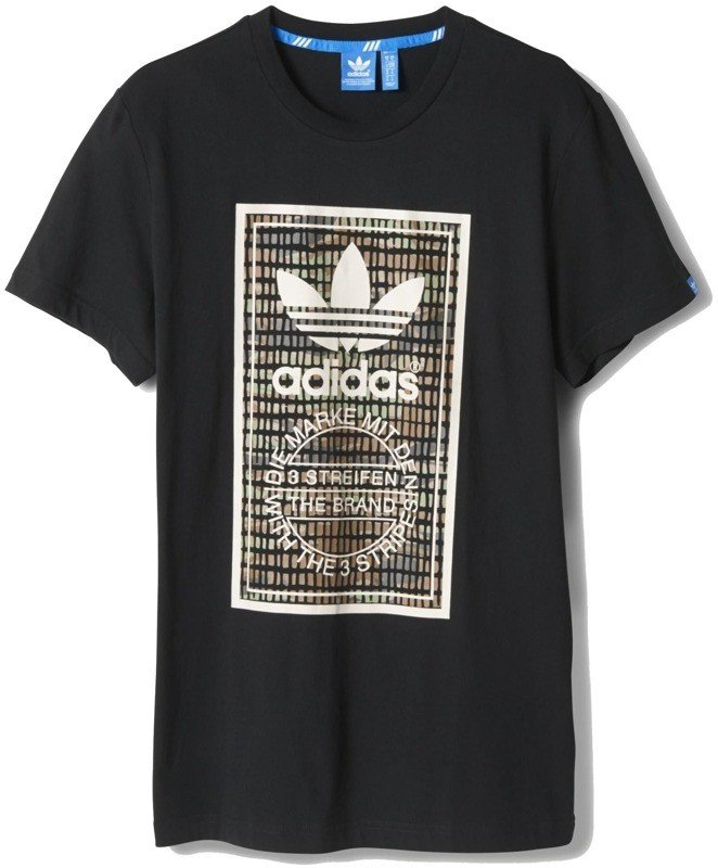 Koszulka Adidas Camo Tongue-Label Tee M69332
