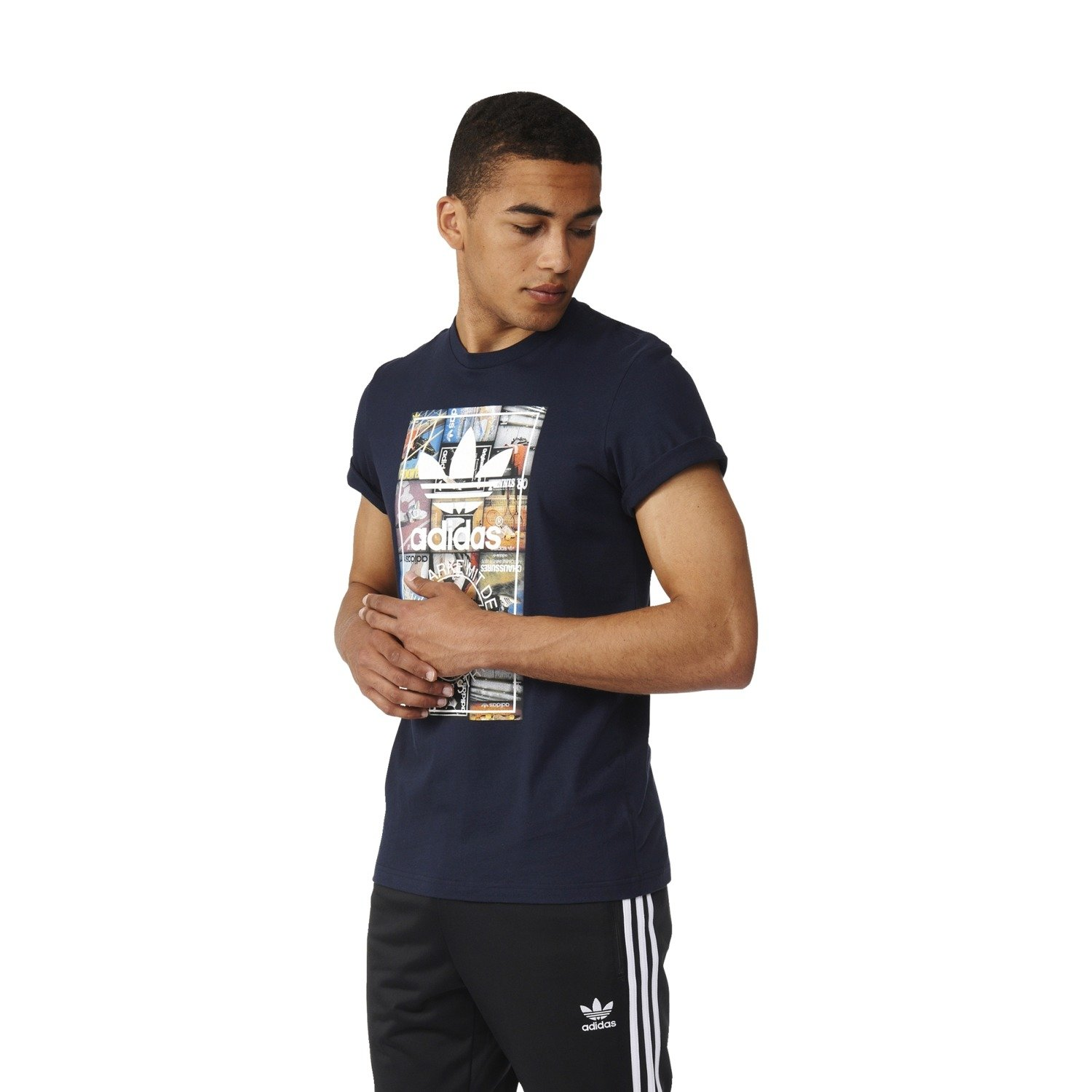 Koszulka adidas Back to School Tongue Label Tee AY7817