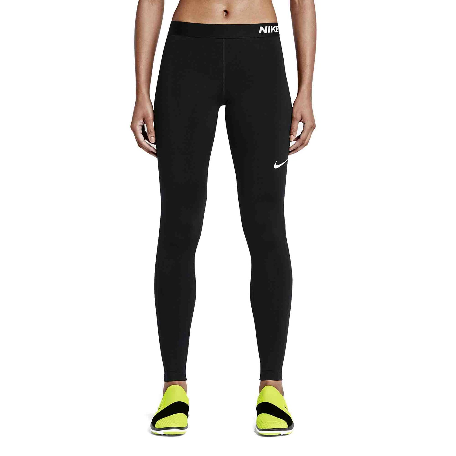 Legginsy sportowe Nike Pro Warm Tight 803102 010