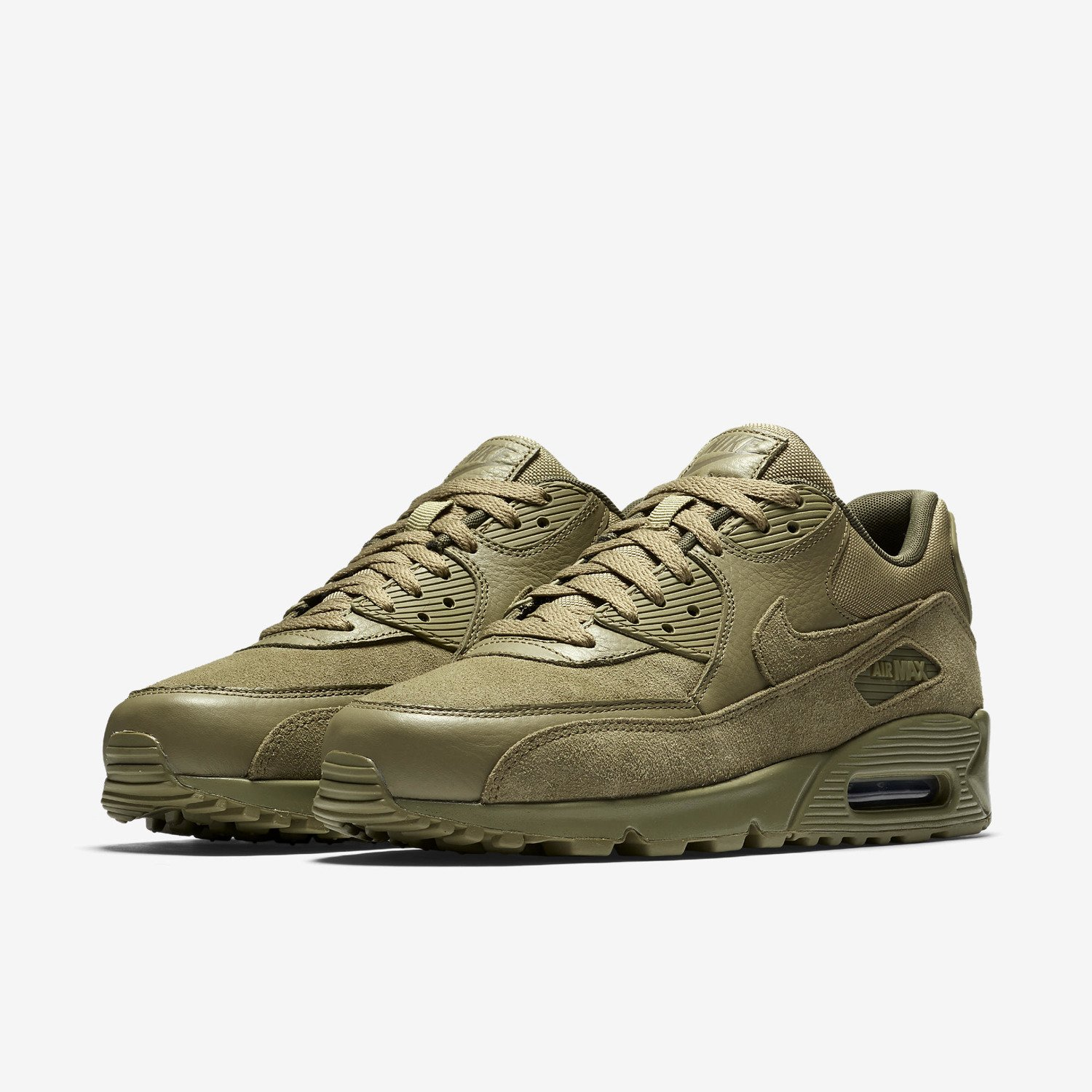 Nike Air Olive Max 90 Premium Neutral Olive Air Crop Science 2409e5