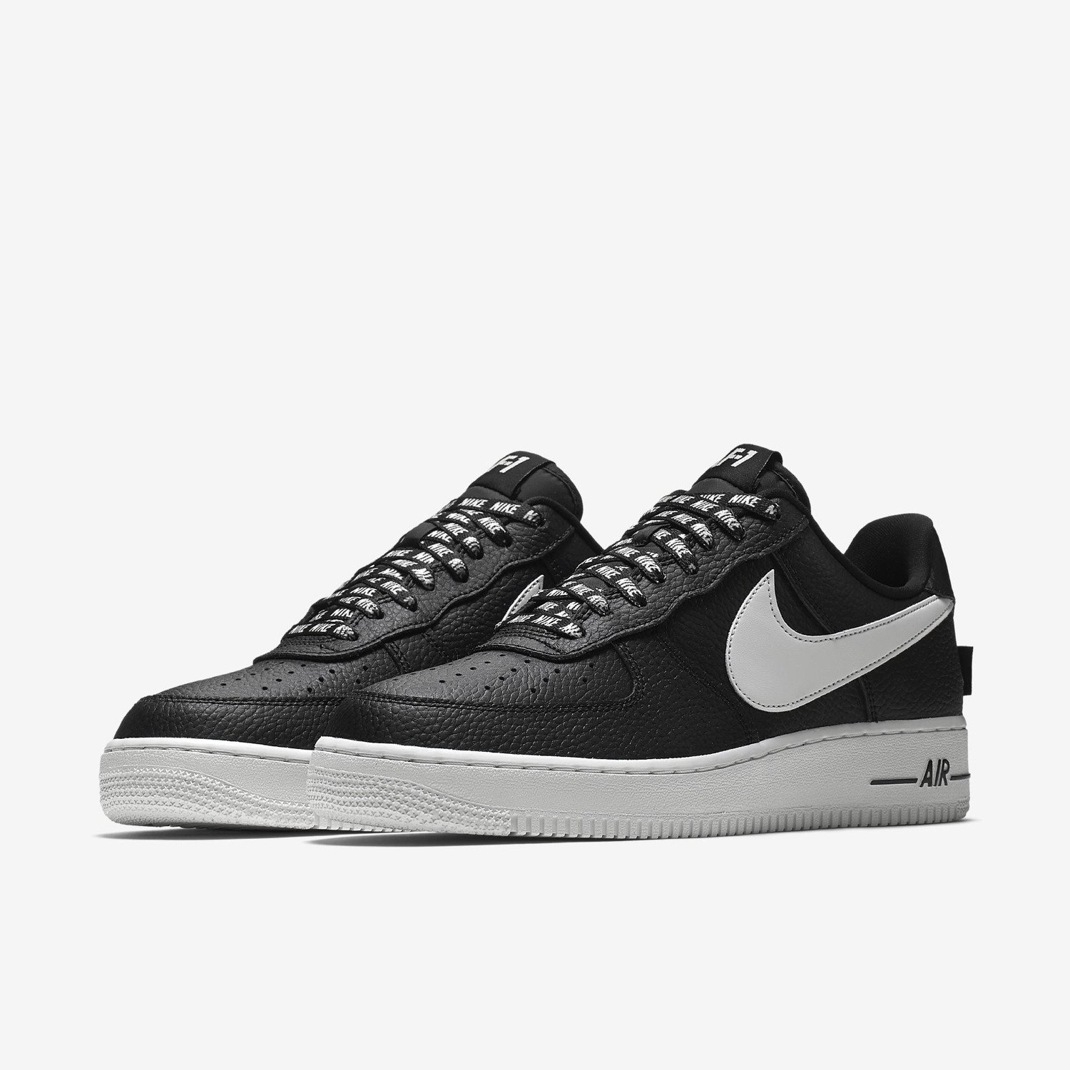 a689c1b1ad5 nike air force 1 low statement game black white 823511 007