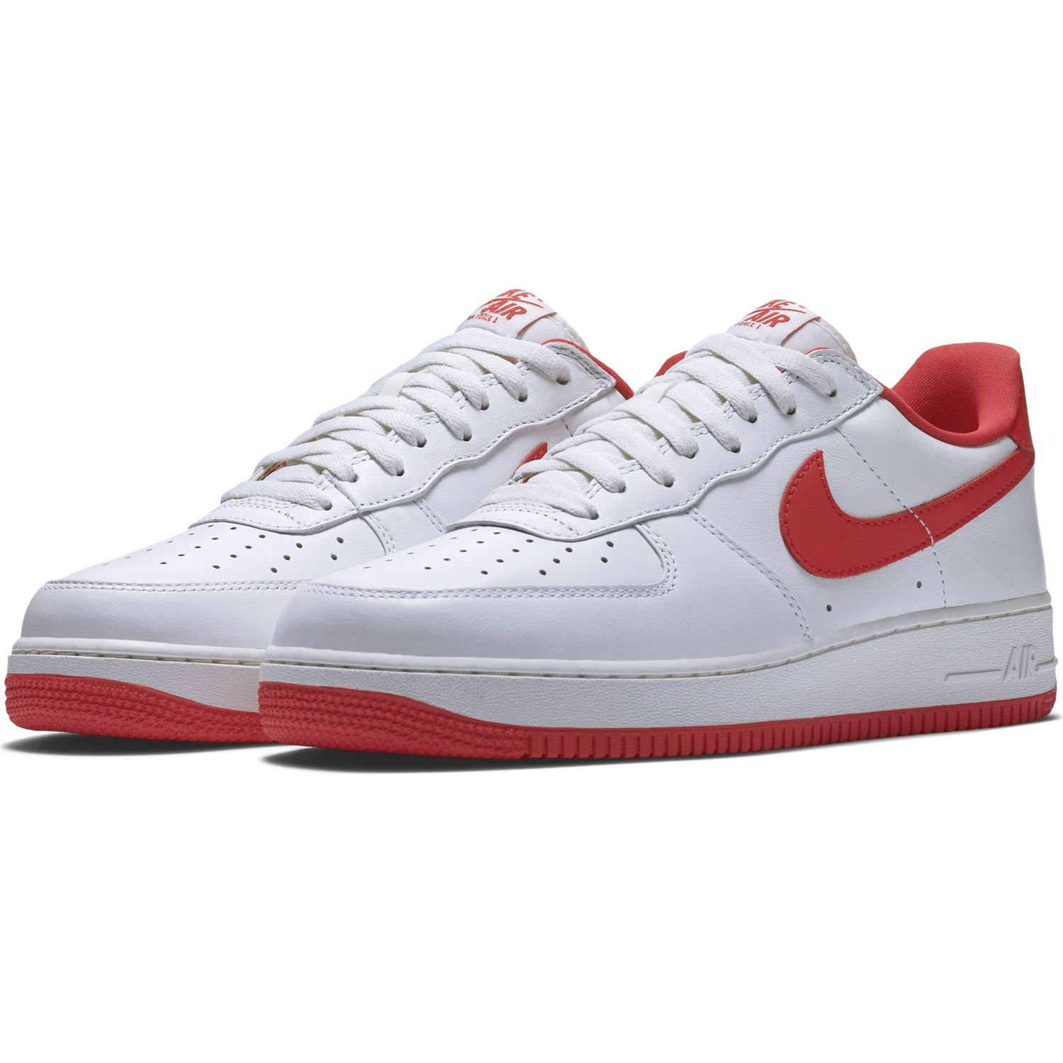 Nike Air Force 1 Low Retro Summit White/University Red 845053 100