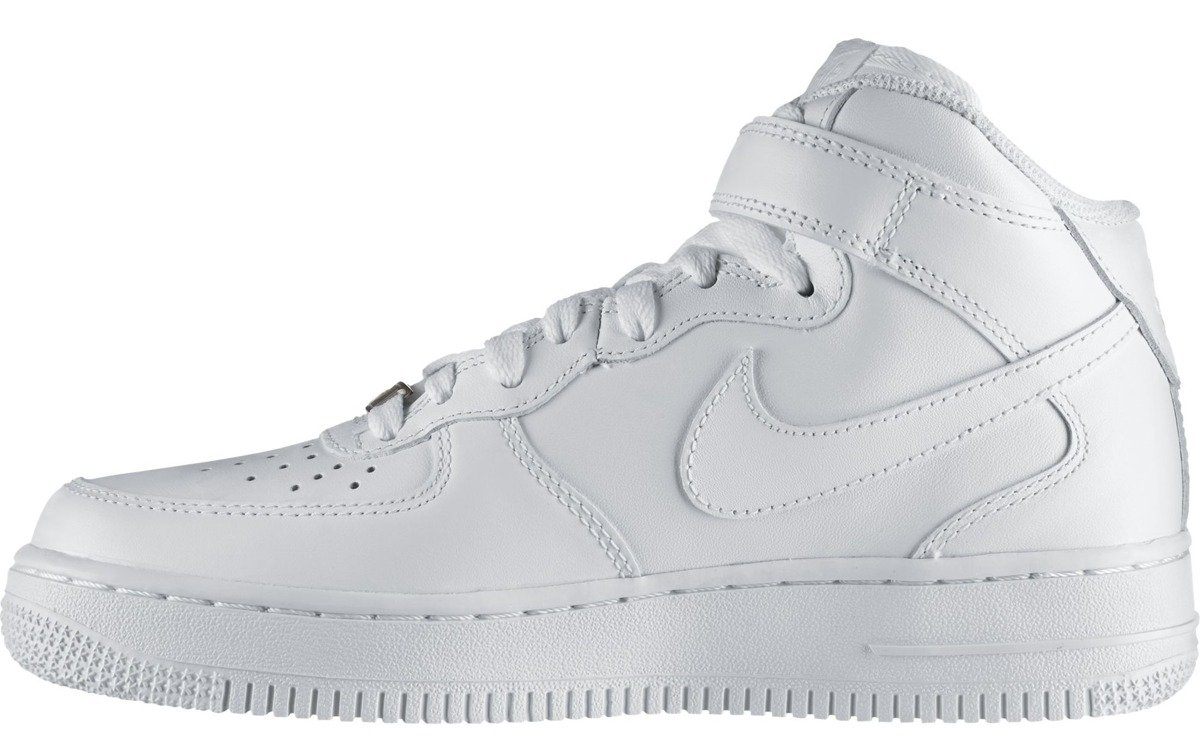 Nike Air Force 1 Mid '07 LE All White 366731 100