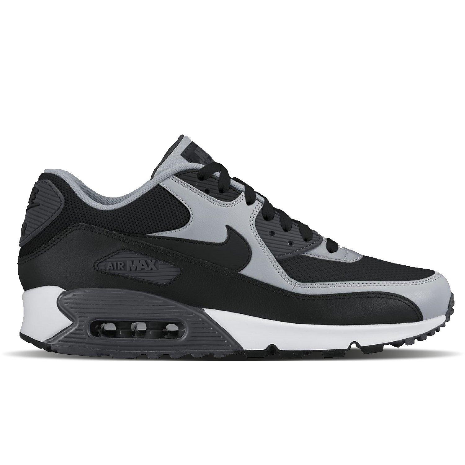 Nike Air Max 90 Essential Black/Wolf Grey 537384 053