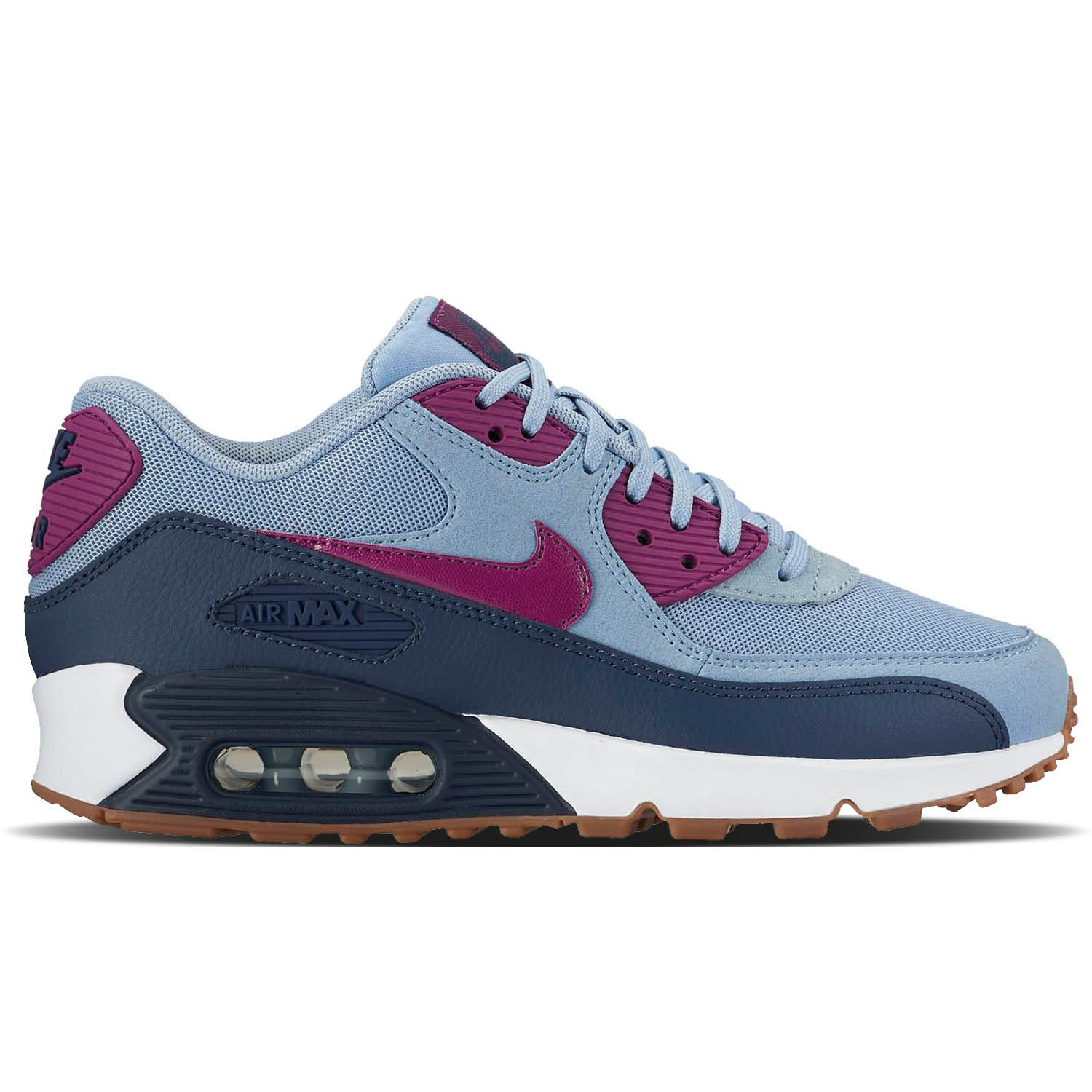 Nike Air Max 90 Essential Blue Grey 616730 403