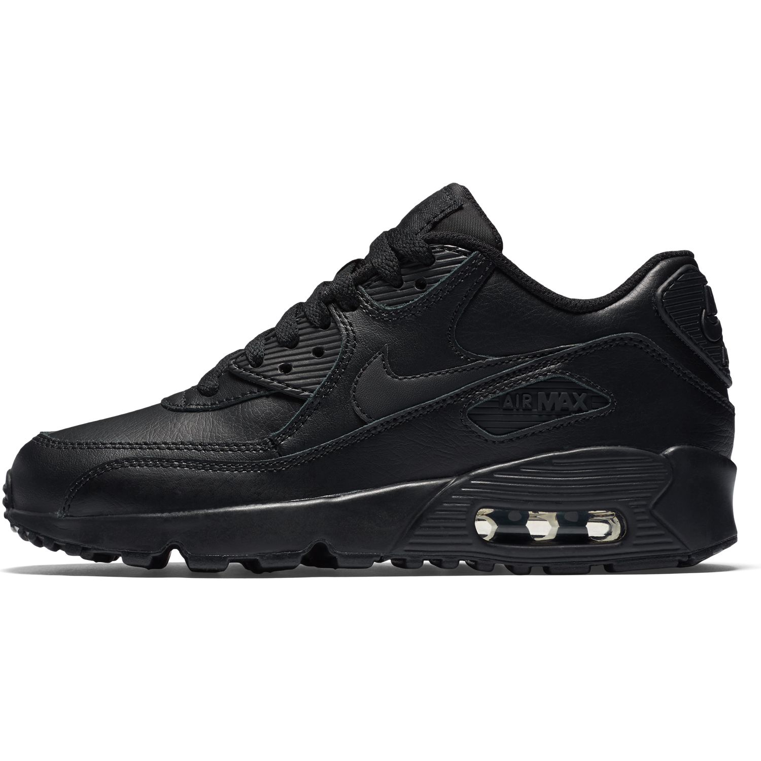 Nike Air Max 90 Leather Black 833412 001