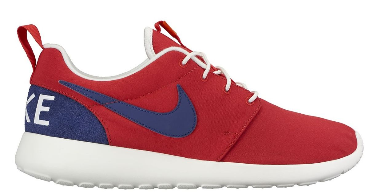 Nike Roshe One Retro University Red/Loyal Blue 819881 641