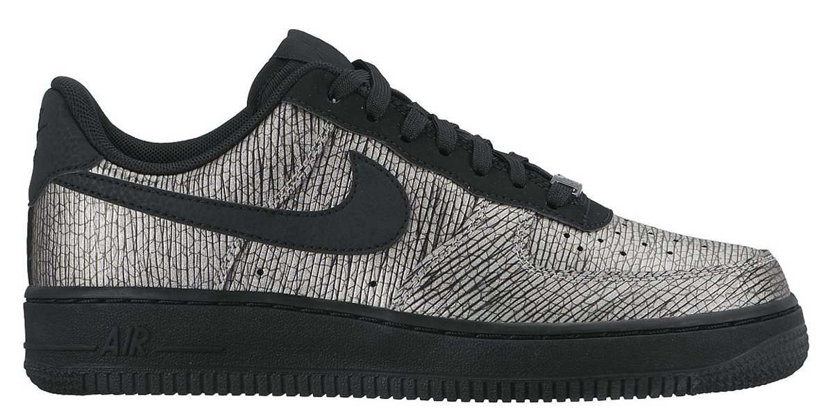 Nike Wmns Air Force 1 '07 PRM Metallic Hematite Pack  616725 003