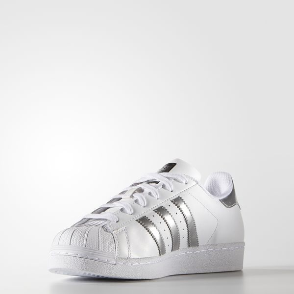 adidas Superstar Silver Metallic AQ3091