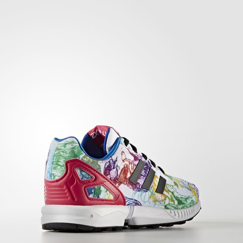 adidas ZX Flux White/Bold Pink S76301