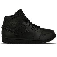 Air Jordan 1 Mid Black 554724 034