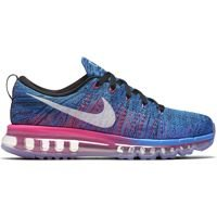 Buty do biegania Nike Flyknit Air Max Blue Glow 620659 014