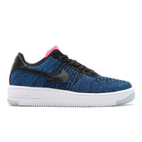Nike Air Force 1 Flyknit Low Deep Royal Blue 820256 003