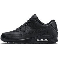 Nike Air Max 90 Leather All Black 302519 001