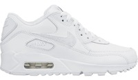 Nike Air Max 90 Leather (GS) White 724821 100
